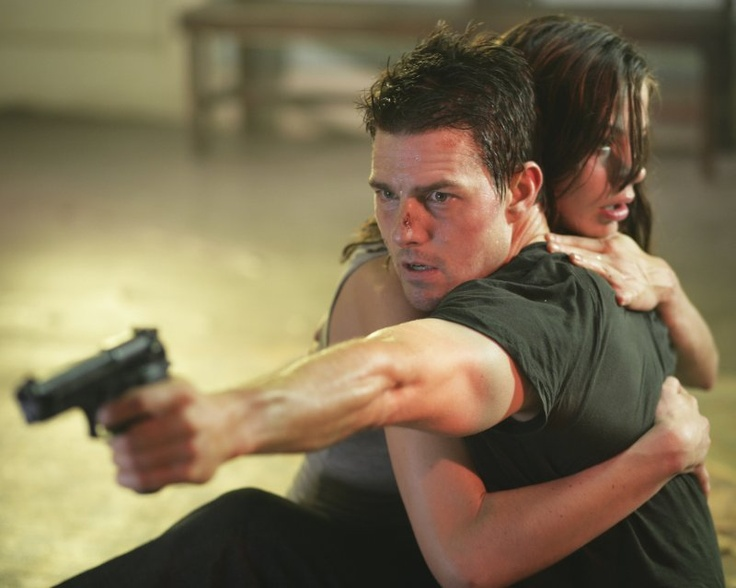 Tom Cruise & Michelle Monaghan in Mission: Impossible III (2006) by J.J. Abrams.