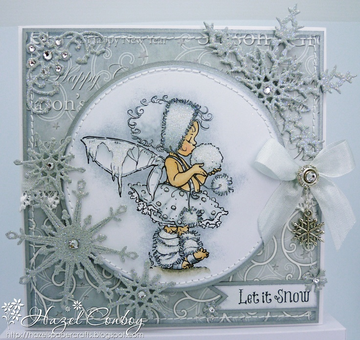 sweet winter card by Hazel Conroy at Simply Me ...digi by Mo's Digital