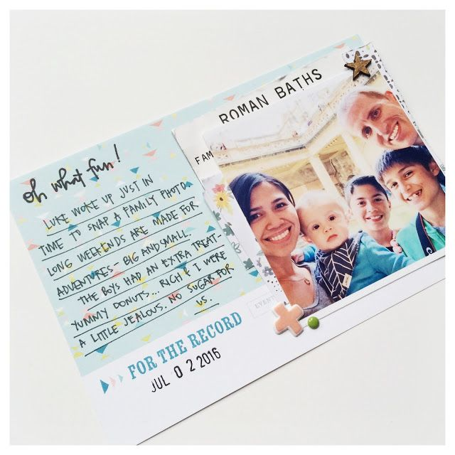 Citrus Twist Kits: 3 to Inspire with Tara Rice Here are your prompts 1. use memorabilia 2. use word stickers/thickers 3. add in handwritten journaling