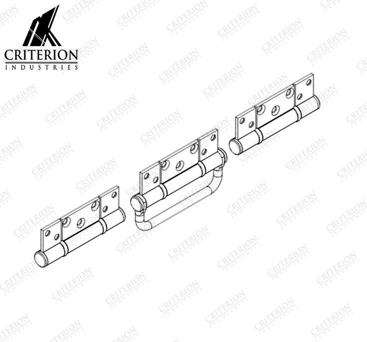 Atlantic Bi-Fold Hinge Handle Set