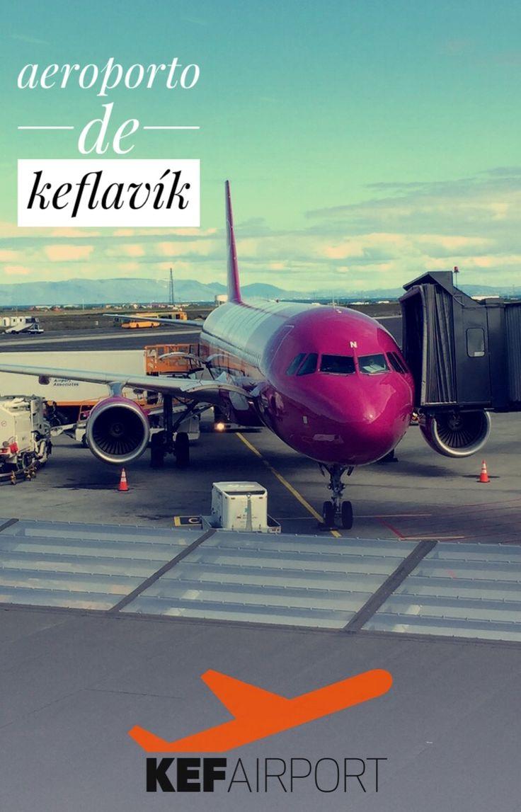 Aeroporto de Keflavík na Islândia!