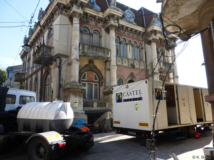 """Movie """"What happened to Monday?"""" filmed nearby Casa cu Lei in Constanta"""