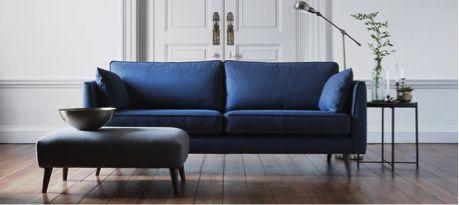Be big on blue this season - Sofa Workshop