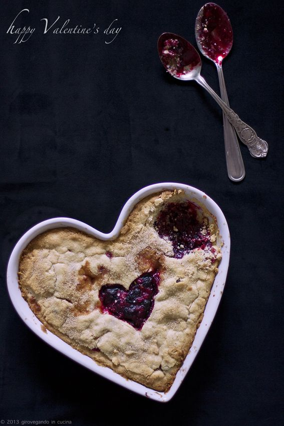 giroVegando in cucina: Torta di frolla con frutti di bosco  Wild berries tart