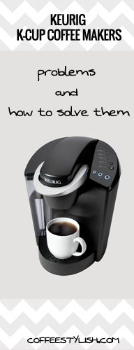 #Keurig won't brew a full cup, water doesn't come out of the machine, grounds in coffee, Keurig turns on/off by itself, Keurig add water issue or it's not working at all. Read more about the most common Keurig k-cup coffee maker problems and how you can solve them (without spending a $)