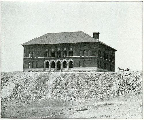 School of Mines (Montana Tech), Butte, Montana. (1900)