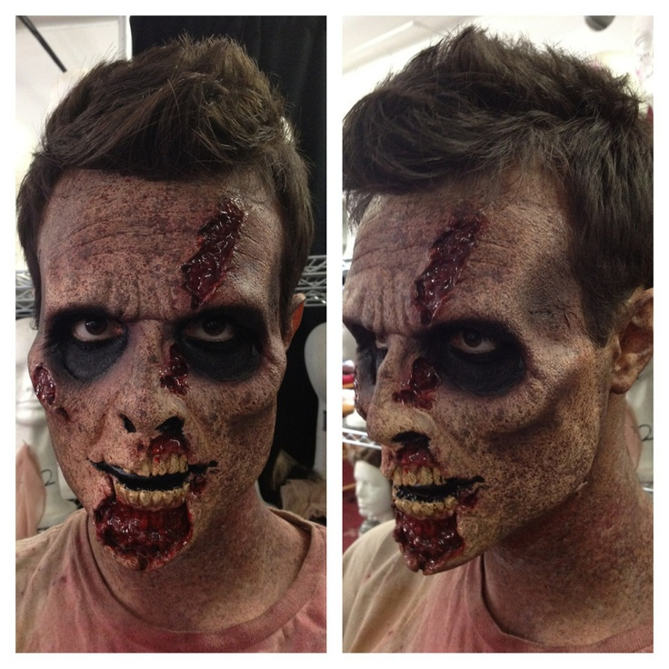 Special effects zombie makeup!
