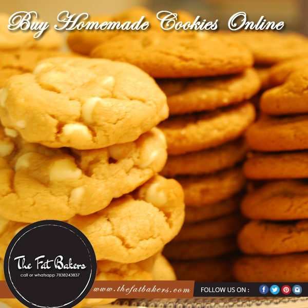 #Cookies are the favorite snacks for all ages. The Fat Bakers provide you the widest range of #buttercookies, eggless cookies, #coconutcookies, peanut butter cookies, #homemadecookies, almond cookies, etc Call or WhatsApp +91-7838-243-837 #biscuits #biscuit #tasty #delicious #eat #buttery #handmade #creamy #rich #marshmallow #cookie