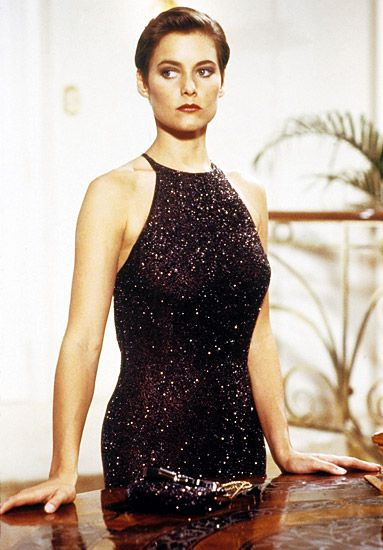 Pam Bouvier  Played by: Carey Lowell  Licence to Kill (1989)  Photo Gallery : InStyle.com What's Right Now