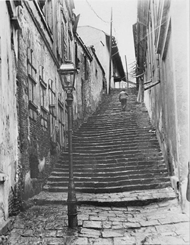 Poze vechi Bucuresti, trecatoare in centrul orasului