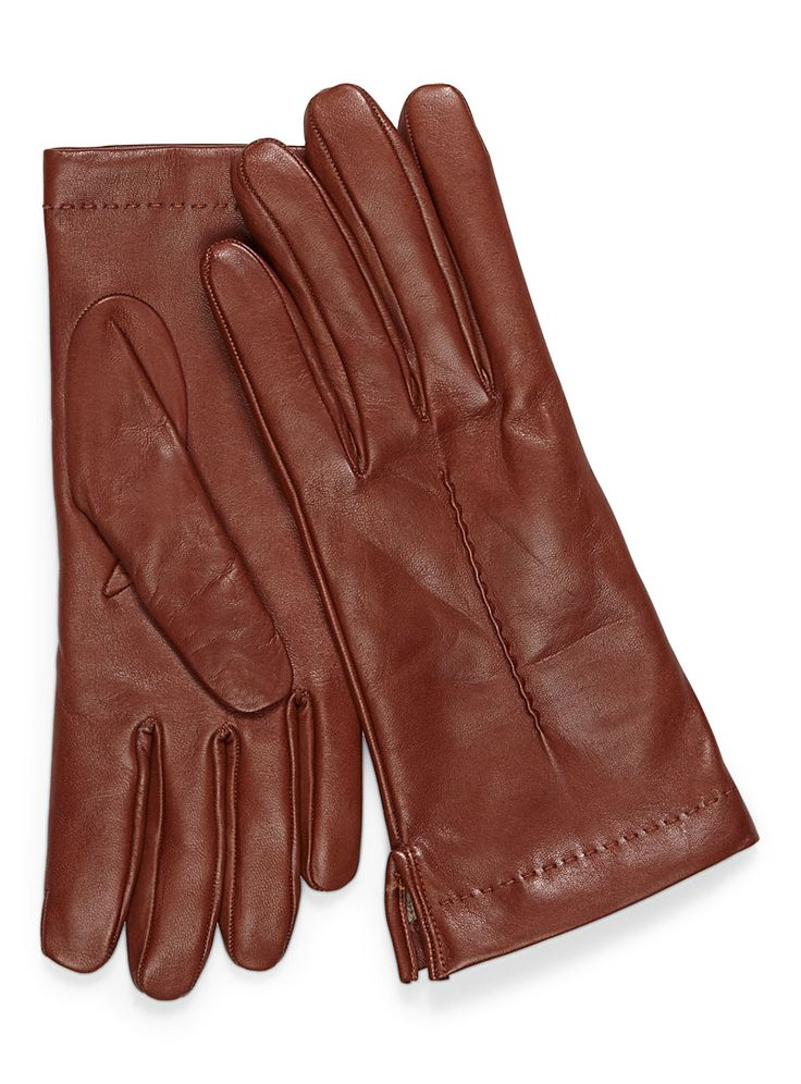 Any brown leather gloves...