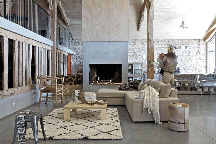 Le style scandinave Mélange scandinave et indus : tapis kilim au top !