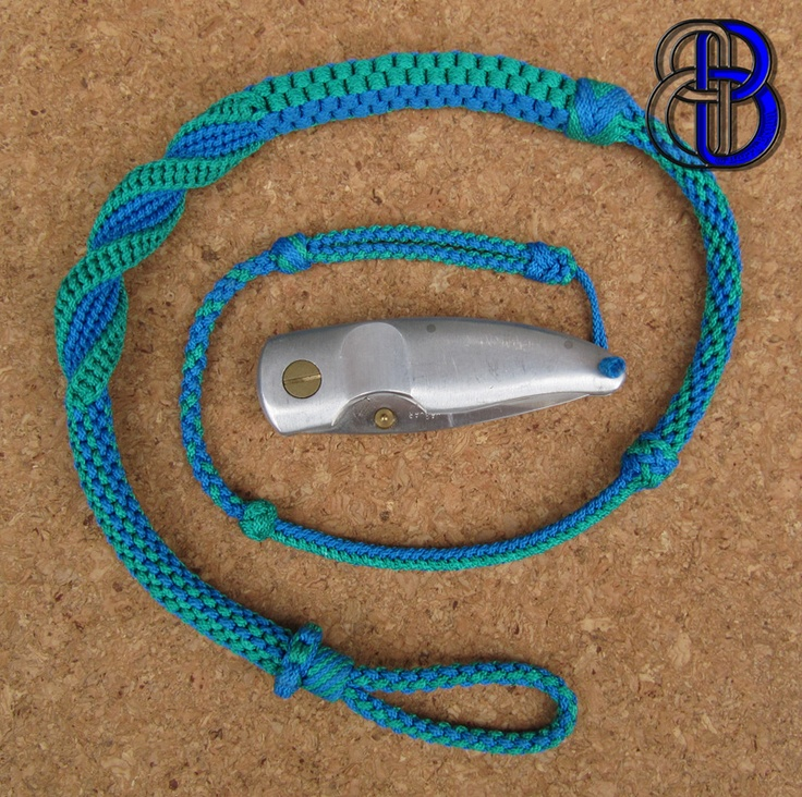 29 best images about knotted lanyards on pinterest for Knife lanyard ideas