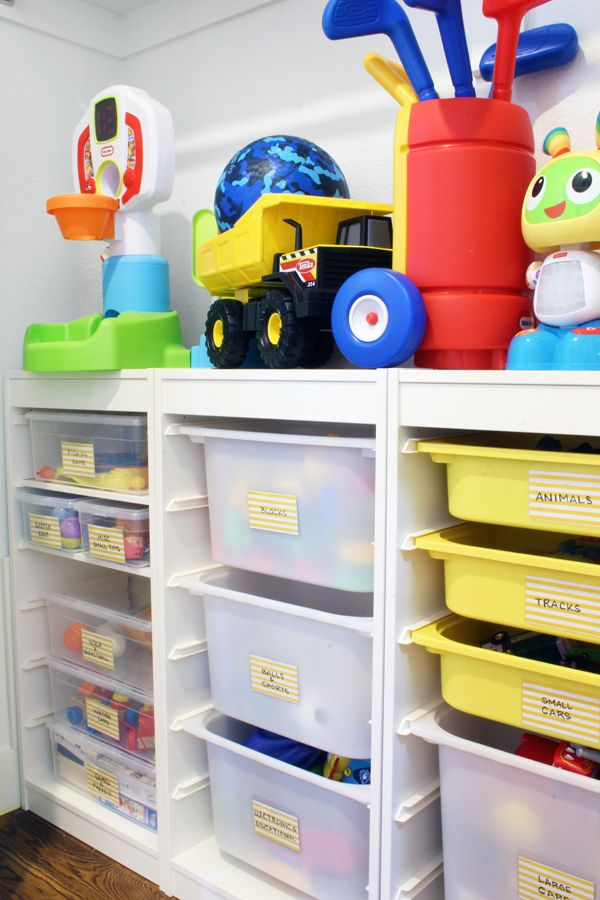 A Toy Storage Solution That Can Grow With The Kids Toy Storage Bins Ikea Toy Storage Toy Storage Organization