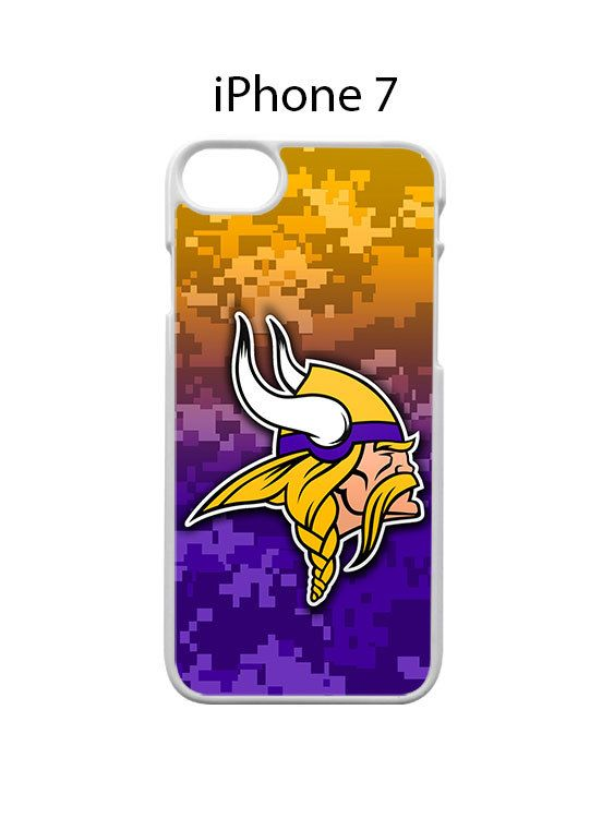 Minnesota Vikings on Camo iPhone 7 Case Cover