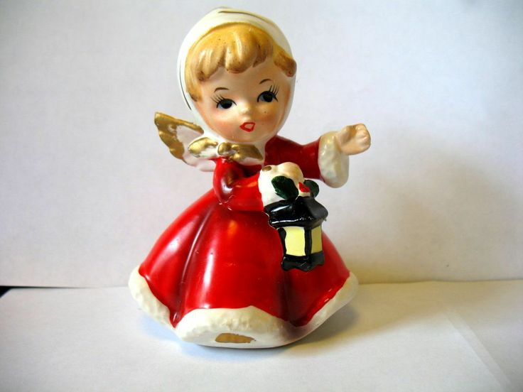 181 Best Christmas Ceramic Figures Images On Pinterest