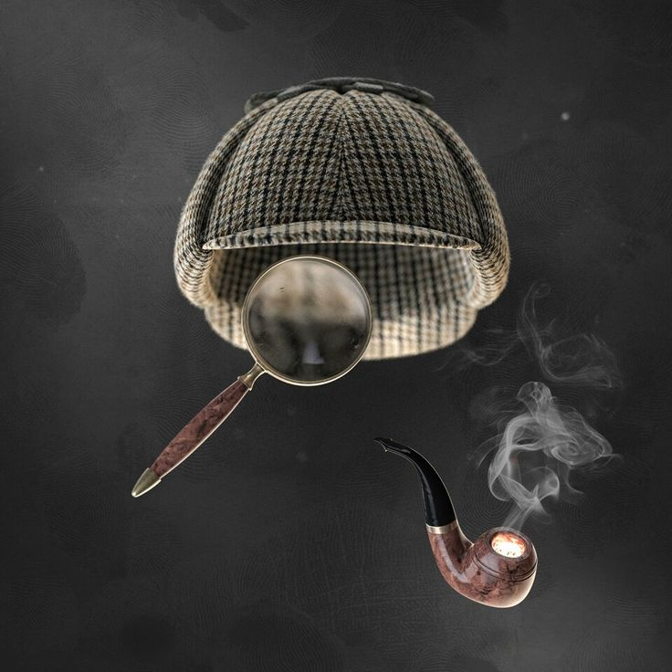 """""""Guess who?"""" Sherlock Holmes. Hat from turbosquid. Rest modeled in NX. Rendered in Keyshot."""