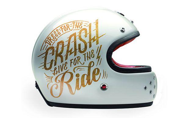 Ruby Le Castel Helmet Design by Jen Mussari - King of Fuel