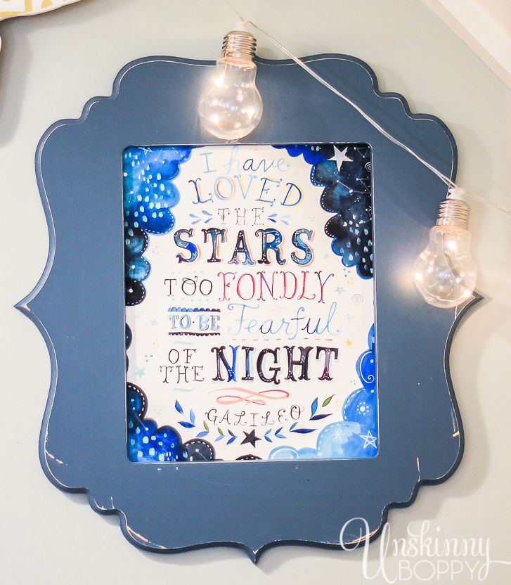 I have loved the stars too fondly to be fearful of the night- Galileo   The Attic Book Nook