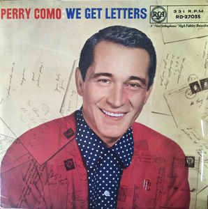 Perry Como - We Get Letters (Vinyl, LP, Album) at Discogs