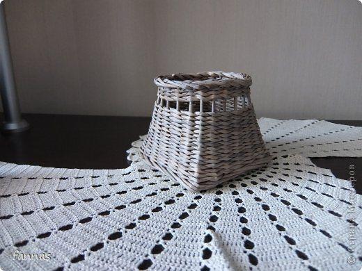 Мастер-класс Поделка изделие Плетение Подробности интересной формы Трубочки бумажные фото 7