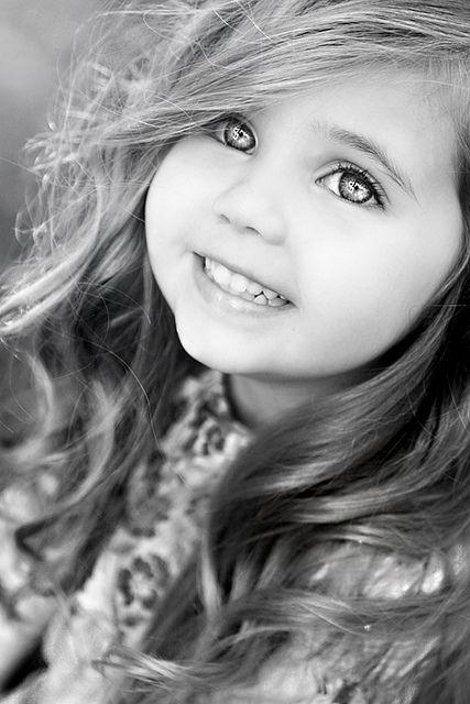 What a pretty girl!