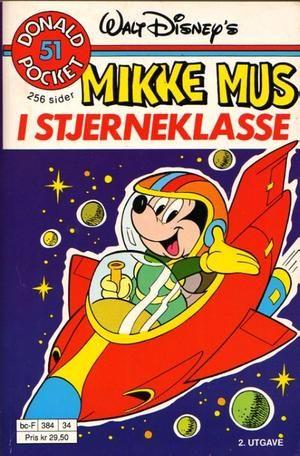 """""""Mikke Mus i Stjerneklasse - Donald Pocket #51"""" av Marco Rota"""