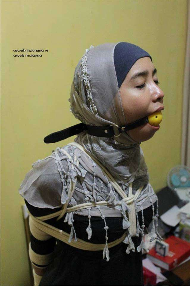 bound and gagged muslim women