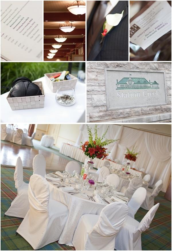 Station Creek Golf Club wedding. Photos by Avangard Photos