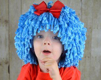 Peluca barba Hat Halloween traje cualquier Color por YumbabY