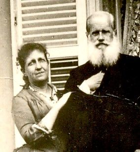 Família Imperial brasileira: D. Pedro II e sua filha Princesa Isabel