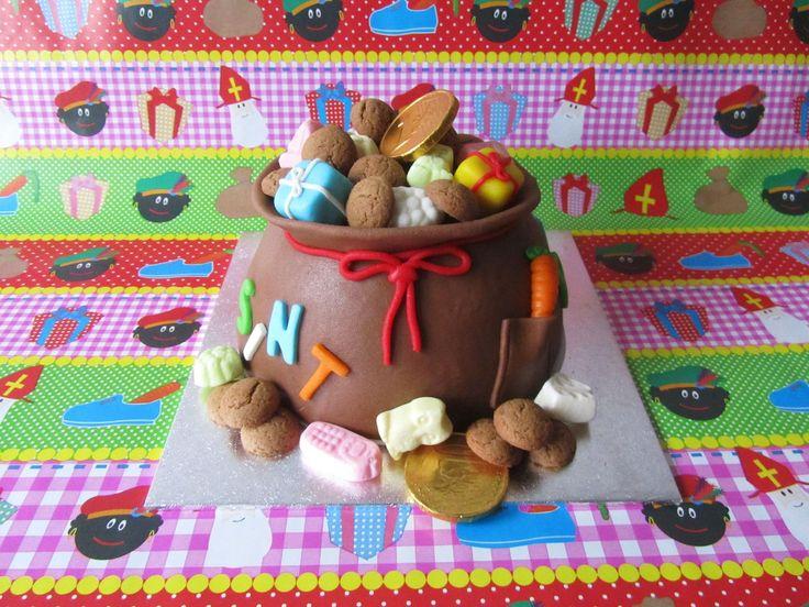 Sinterklaas taart by one of our Facebook followers