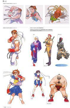 Street Fighter Alpha 2 artbook