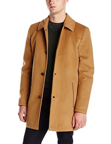 Vince Camuto Men's Storm System Melton Car Coat with Water Repellant Backing, Camel, Small Vince Camuto http://www.amazon.com/dp/B00JHCSH20/ref=cm_sw_r_pi_dp_Y0qjub0QBZY9C