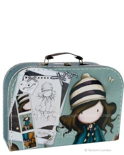 Large 'suitcase' box - The Foxes, Santoro's Gorjuss