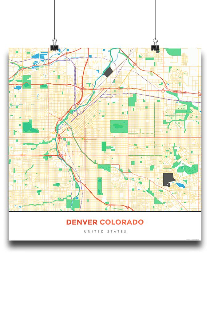 Top Best Denver Map Ideas On Pinterest - Denver colorado in us map