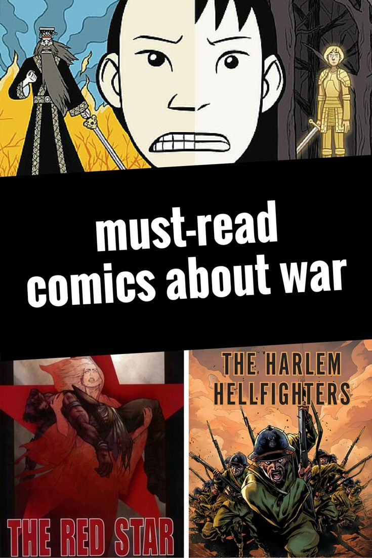 Must-Read Graphic Novels and Comics About War | a book list from Planet Jinxatron