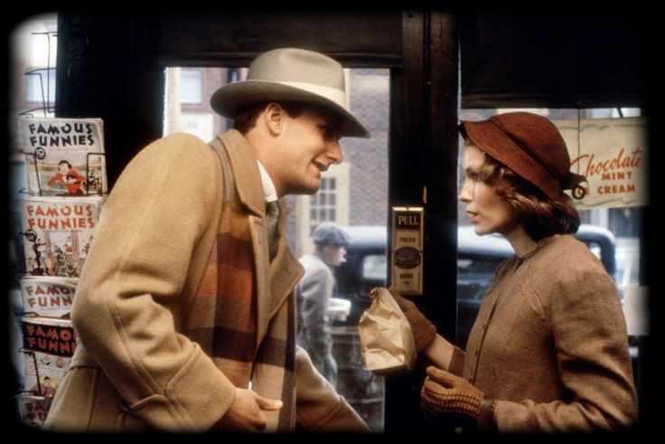 Jeff Daniels & Mia Farrow in The Purple Rose of Cairo (1985)