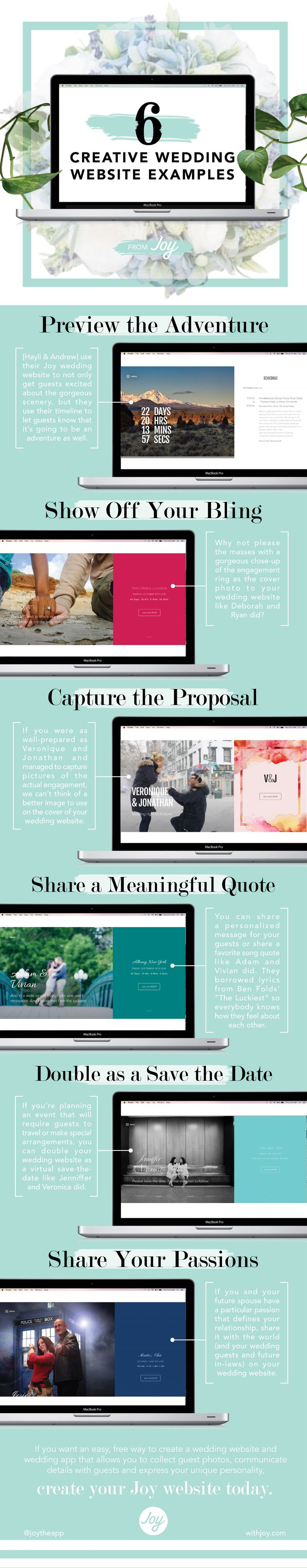 25+ best ideas about Wedding website examples on Pinterest | Your ...