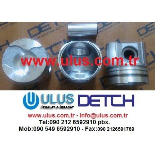 6137-32-2130 Piston Komatsu Orjinal DETCH piston, SA6D105 WA320-1 DETCH komatsu motor parçası