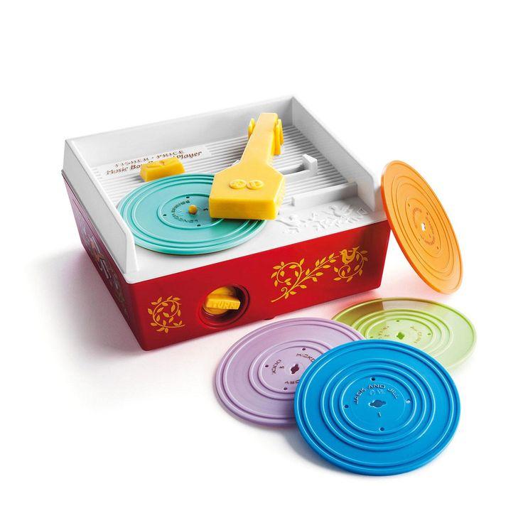 Tourne-disque vintage Fisher Price - Retrouvez le charme de vos jouets d'enfance - 39,95 €