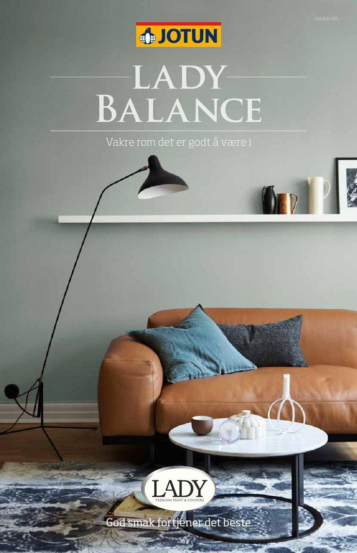 Jotun LADY Balance  Vakre, matte vegger og godt inneklima. Lukter minimalt.