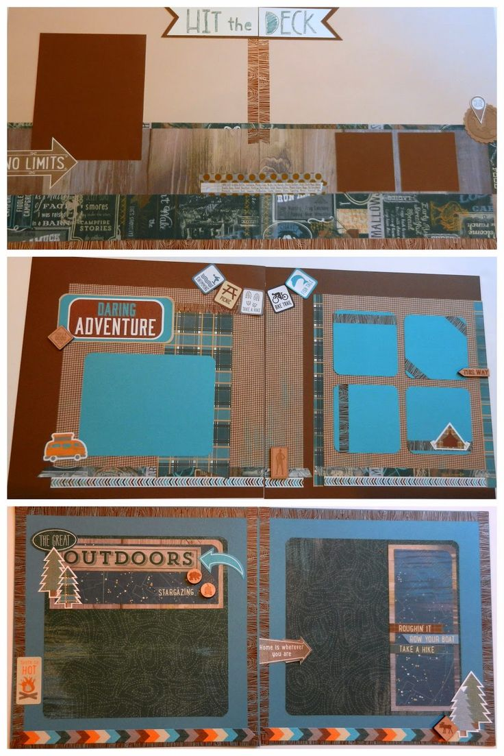 Ziplining scrapbook ideas - Mary Gunn Funn Free Cutting Guide For These Layouts When You Purchase The Timberline Pajama Funn Party Shopping List Before April