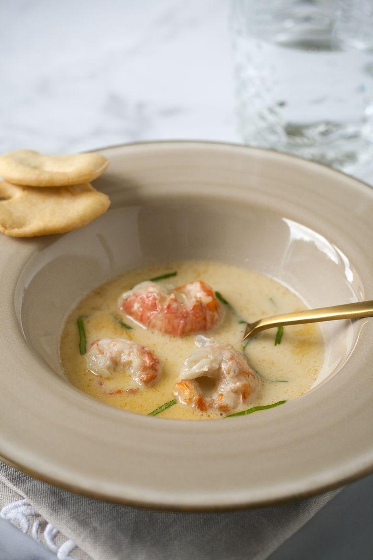 Creamy Langoustine Soup
