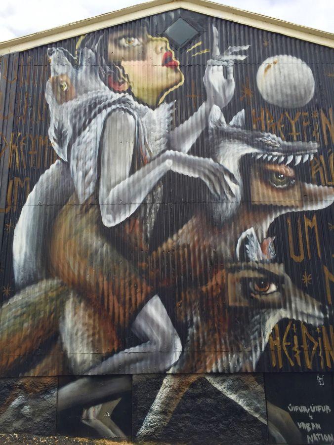 Reykjavik Street Art | Sunny District