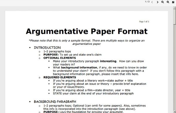 argumentative essay outline worksheet pdf