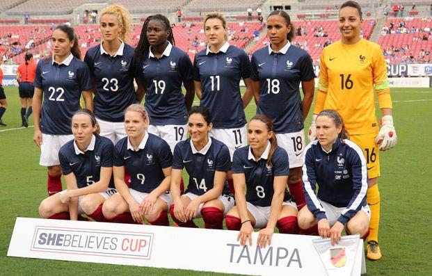 Equipes de France - L'Allemagne s'impose 1-0 à Tampa - FFF
