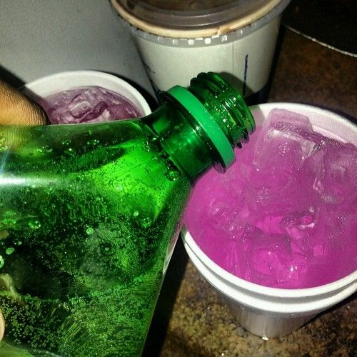 lean, codeine, and drink image