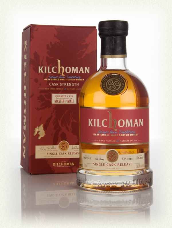 Kilchoman 4 Year Old 2010 - Single Quarter Cask Release (cask 582/2010) (Master of Malt)