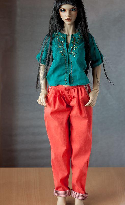 Blouse and pants (2) by Nulize.deviantart.com on @DeviantArt  bjd #abjd #bjdclothes #bjdfashion #iplehouse #iplehouseeid #eid #bjdsewing #dolls #nulizeland